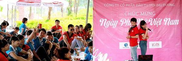 """Những bài hát nhẹ nhàng tình cảm """"xuôi cơm"""" tại Team building chào mừng ngày Phụ nữ Việt Nam 20/10"""