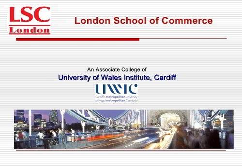 Học bổng đặc biệt trường London School of Commerce dành cho sinh viên Việt Nam