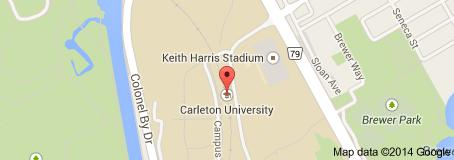 Vị trí trường Carleton University