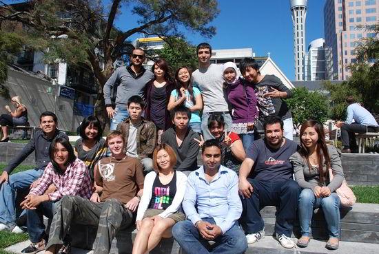 Sinh viên Học viện công nghệ quốc gia NTEC