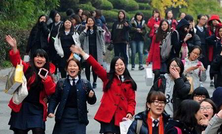 Kỳ thi tuyển sinh đại học tại Hàn Quốc 2014