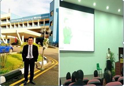 Đại diện công ty New Ocean công tác thực tế tại học viện Easb Singapore