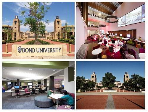 Học bổng từ đại học Bond
