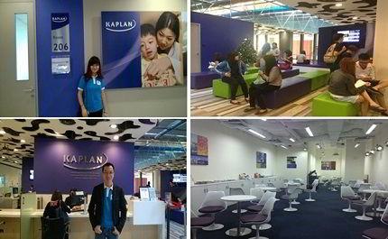 Một số hình ảnh của trường Kaplan Singapore
