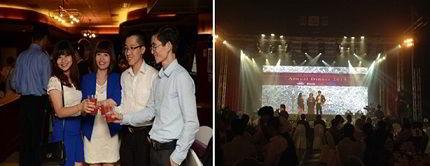 Một số hình ảnh về Lễ Gala Dinner của trường