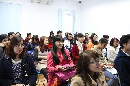 Rất đông các bạn trẻ đã đến tham dự Hội thảo