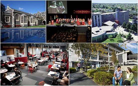 Các chương trình đào tạo tại Đại học Canterbury