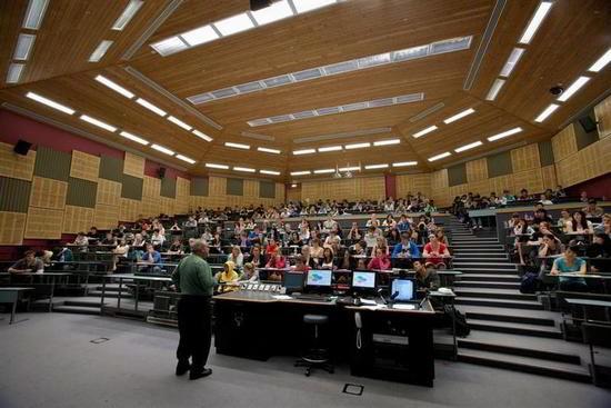giảng đường Đại học Waikato