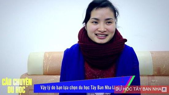 Đàm Thị Hạnh – chủ nhân tấm visa du học Tây Ban Nha