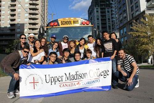 Học bổng ưu đãi cho sinh viên Upper Madison College