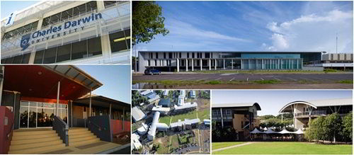 Cơ sở vật chất của trường Đại học Charles Darwin