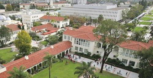 Khuôn viên trường Đại học San Diego State, Mỹ