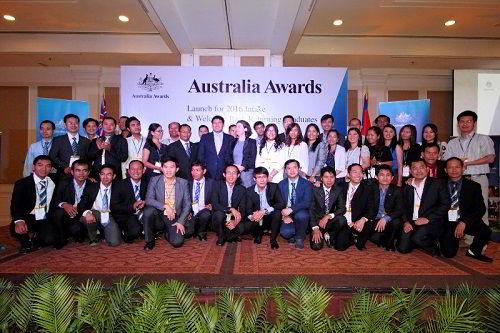 Lễ trao học bổng Chính phủ Úc - IPRS