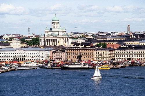 Vẻ đẹp của thủ đô Helsinki khi nhìn từ biển vào