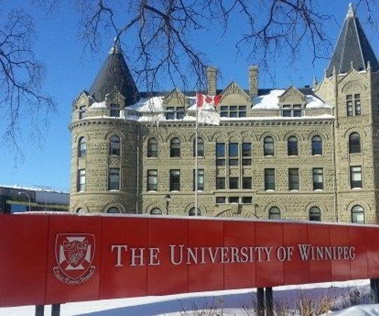 Học bổng du học Canada từ Đại học Winnipeg