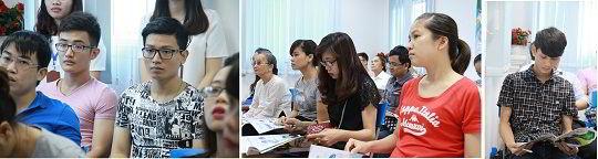 Hội thảo du học Nhật Bản cùng Học viện Ehle thu hút sự quan tâm của nhiều phụ huynh và học sinh