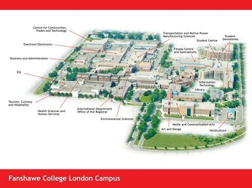 Fanshawe College London campus