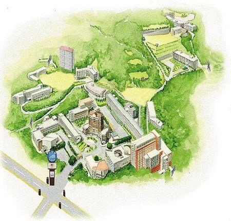 Kyungsung University Campus Map