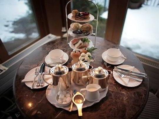 Bữa trà chiều của người dân Anh quốc