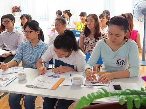 Các bạn học sinh rất quan tâm với chương trình du học Mỹ cùng American Honors