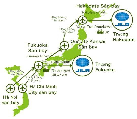 Các cách du học Nhật Bản tới với Học viện ngôn ngữ quốc tế J-ILA
