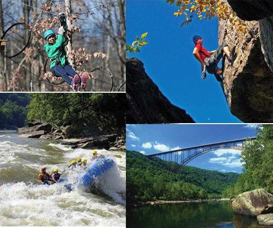 Các hoạt động ngoài trời của sinh viên Đại học Marshall tại phía Tây Virginia