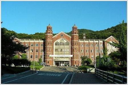 Campus trường đại học ngoại ngữ Hankuk Hàn Quốc