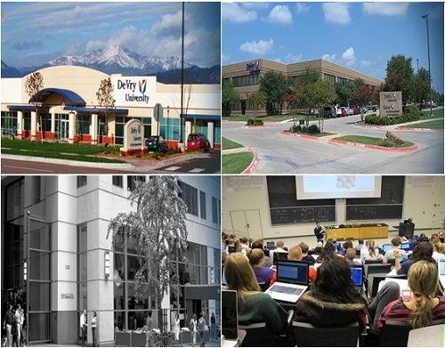 Các cơ sở và phòng học của Trường Đại học DeVry