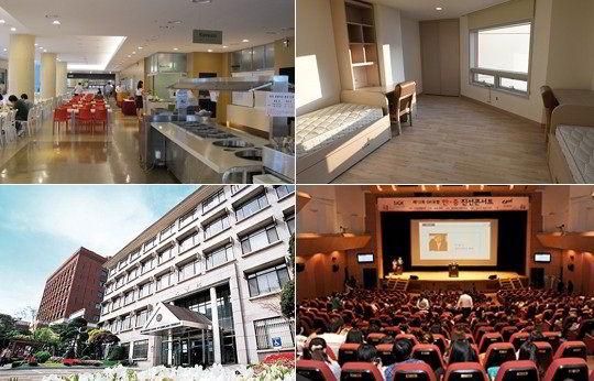 Cơ sở vật chất của trường Đại học Chung-Ang