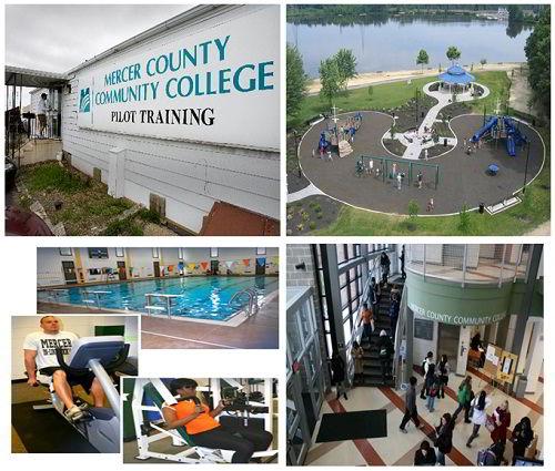 Cơ sở vật chất trường Cao đẳng Cộng đồng Mercer County
