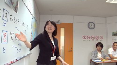 Một giờ học tại trường Nhật ngữ Tokyo World