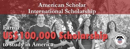 Học bổng 100000 USD của Tập đoàn giáo dục American Scholar Group