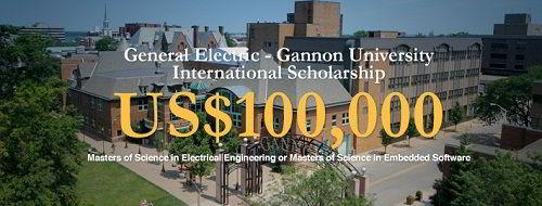 Học bổng 100000 USD của Đại học Gannon