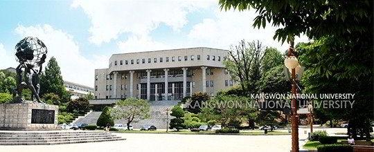 Học bổng du học Hàn Quốc trường Đại học Quốc gia Kangwon
