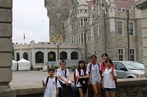 Học sinh tham gia Trại hè Anh ngữ tại UMC, Canada