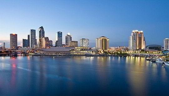 Khung cảnh Vịnh Tampa, Florida