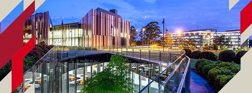 Khuôn viên trường Đại học Macquarie hiện đại và tiện nghi