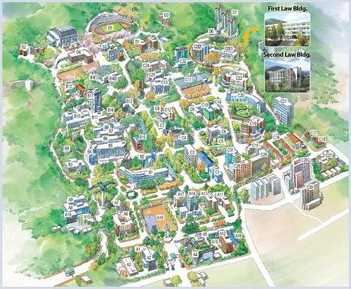 Khuôn viên Đại học Quốc gia Pusan