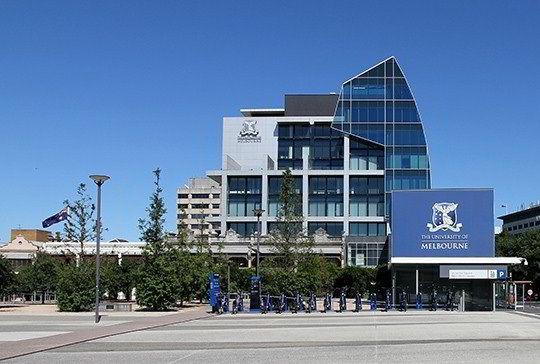 Khuôn viên trường Đại học Melbourne