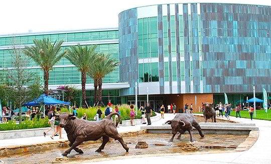 Khuôn viên trường Đại học INTO Nam Florida