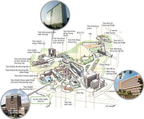 Đại học Kyungsung - Ngôi trường lý tưởng cho ước mơ du học Hàn Quốc