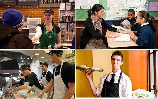 Kiếm việc làm thêm khi du học Mỹ ngay trong khuôn viên trường