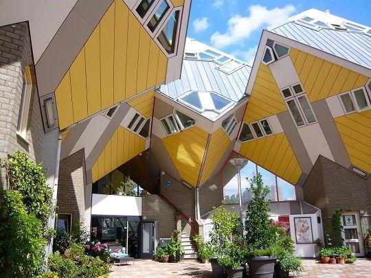 Kiến trúc hình Rubic của tổ hợp Cube Houses