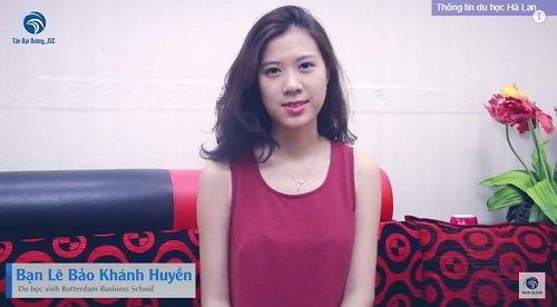 Chúc mừng bạn Lê Bảo Khánh Huyền nhận visa du học Hà Lan