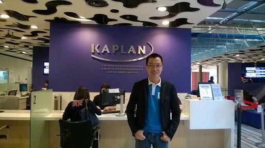 Hình ảnh thực tế của chuyên viên New Ocean trong chuyến thăm Học viện Kaplan