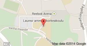 Vị trí của đại học khoa học ứng dụng Laurea
