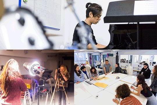Một số hình ảnh trong các studios CSVPA – Tập đoàn giáo dục Cambridge