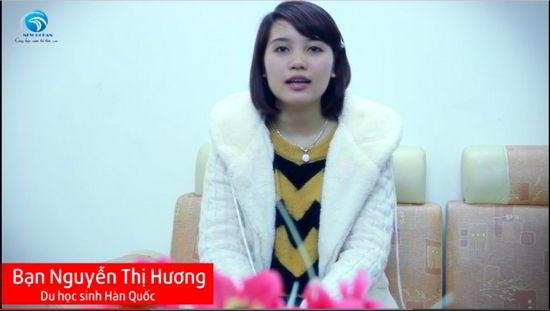 Nguyễn Thị Hương – chủ nhân tấm visa du học Hàn Quốc