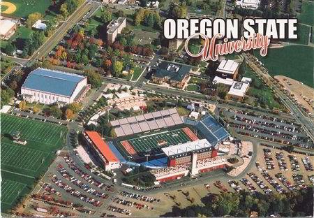Sân vận động trường Đại học Oregon State