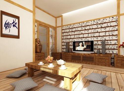 Phong cách thiết kế nội thất tại Nhật Bản